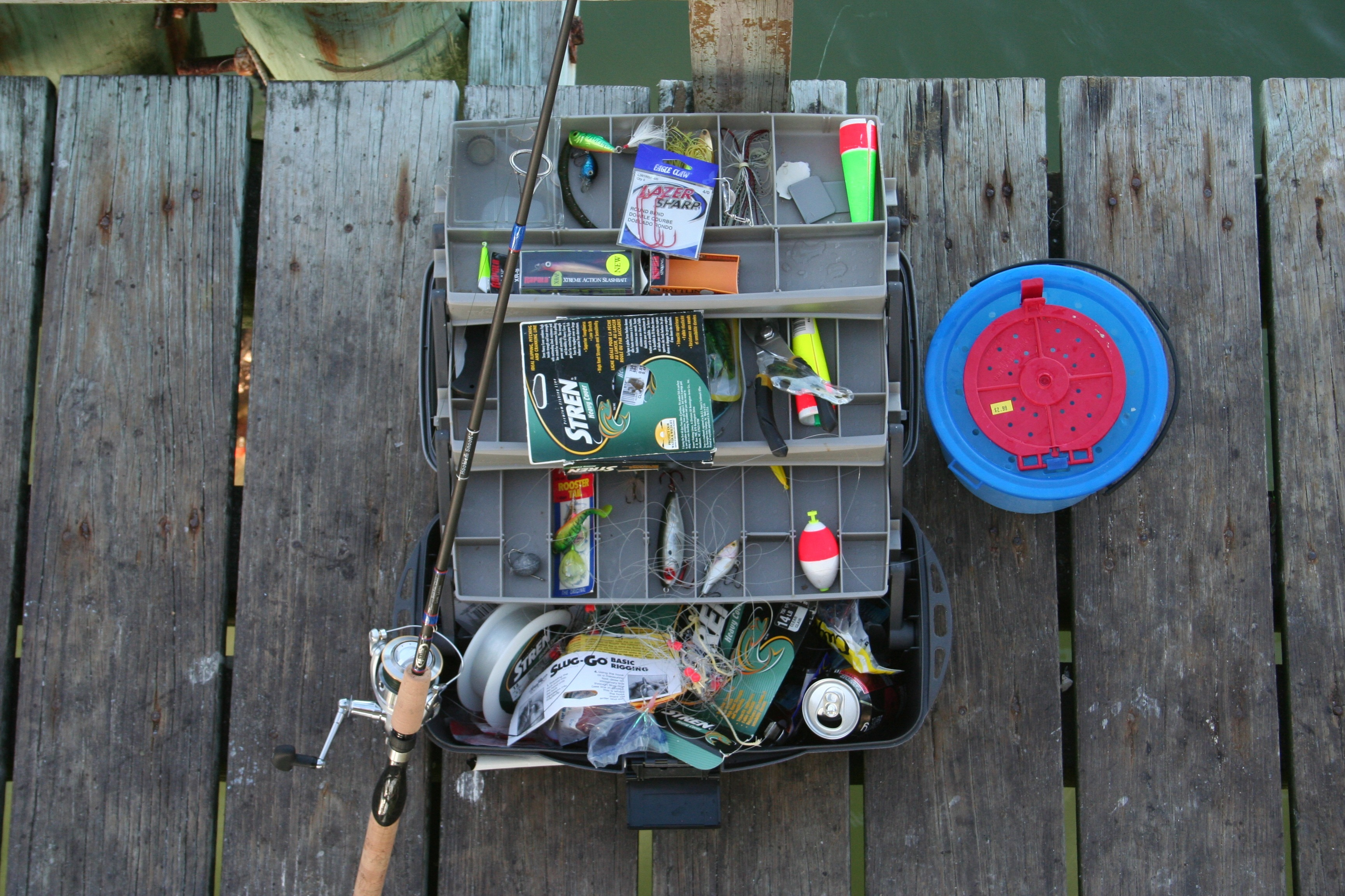 the basics you should put on your fishing tackle box | 3hack, Fishing Rod