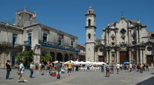 Plaza de la Cathedral in Havana