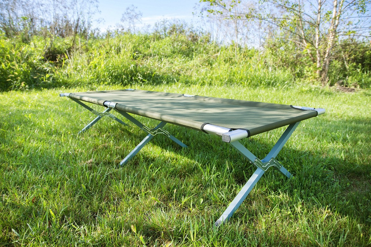 Camping Cot - Queen Size, Double, Mattress, Best Camping Cot