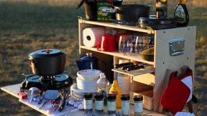 camping kitchen set